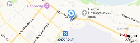 Салон камня на карте Сыктывкара