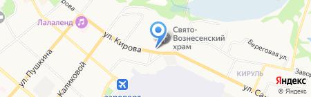 Военный комиссариат Республики Коми на карте Сыктывкара