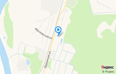 Местоположение на карте пункта техосмотра по адресу Респ Коми, г Емва, ул Дорожная, д 5