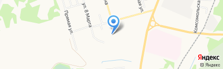 РЭКОН на карте Сыктывкара