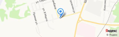 Хоздворик на карте Сыктывкара