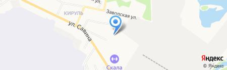 Автосила на карте Сыктывкара