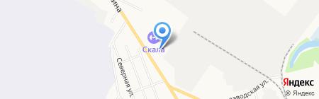 Учебно-пожарная часть на карте Сыктывкара