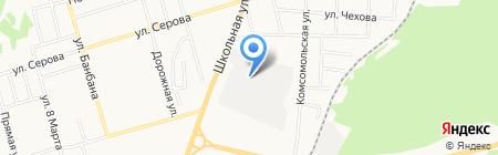 Денталика на карте Сыктывкара