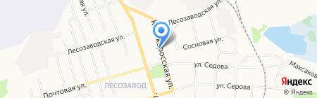 MODNO на карте Сыктывкара