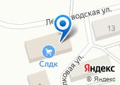 Лесозаводский участковый пункт полиции на карте