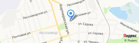 Лилит на карте Сыктывкара