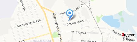 Детский сад №39 присмотра и оздоровления на карте Сыктывкара