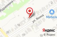 Схема проезда до компании Белые росы в Чернышевке