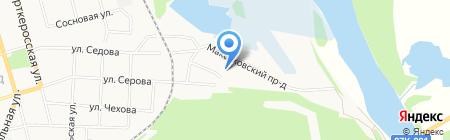 Анди на карте Сыктывкара