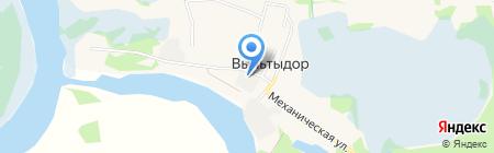 Производственная компания на карте Сыктывкара