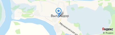 Внедорожный на карте Сыктывкара