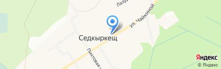 Детский сад №22 на карте Сыктывкара