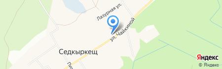 Пожарная часть №117 на карте Сыктывкара