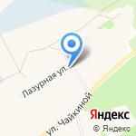 Сыктывкарская городская больница на карте Сыктывкара