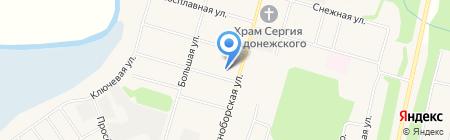 Детский сад №120 на карте Сыктывкара