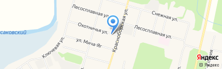 ЖЭК на карте Сыктывкара