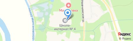 Специальная (коррекционная) общеобразовательная школа-интернат №4 на карте Сыктывкара