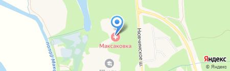 Максаковка на карте Сыктывкара
