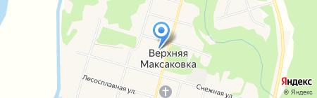 Максаковский на карте Сыктывкара