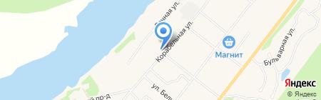 Шарм на карте Сыктывкара