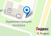 Максаковский на карте