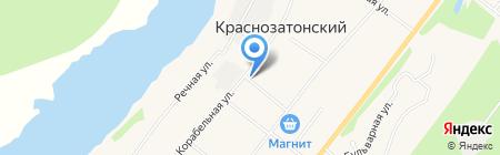 Магазин фруктов и овощей на Корабельной на карте Сыктывкара