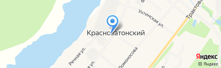 Злата на карте Сыктывкара