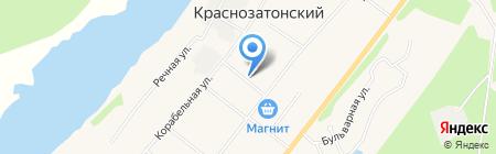 Александра на карте Сыктывкара