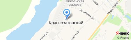 Волна на карте Сыктывкара