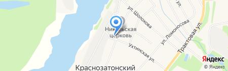 Банкомат БАНК УРАЛСИБ на карте Сыктывкара