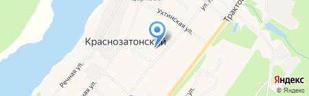 Детский сад №19 на карте Сыктывкара