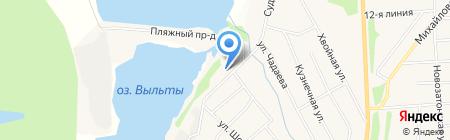 Северный Альянс на карте Сыктывкара