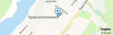 Детская музыкальная школа п.г.т. Краснозатонский на карте Сыктывкара