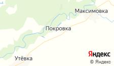 Отели города Покровка (Нефтегорский район) на карте