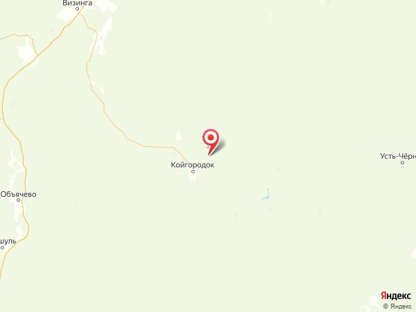 деревня Пустошь на карте