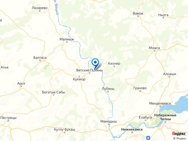 поселок городского типа Красная Поляна на карте