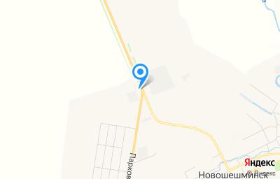 Местоположение на карте пункта техосмотра по адресу Респ Татарстан, с Новошешминск, ул Заводская, влд 24В