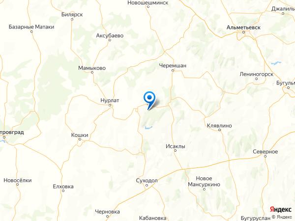 поселок Воздвиженка на карте