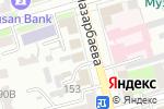 Схема проезда до компании София в Уральске