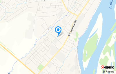 Местоположение на карте пункта техосмотра по адресу Респ Татарстан, г Мамадыш, ул Промышленная, д 3В
