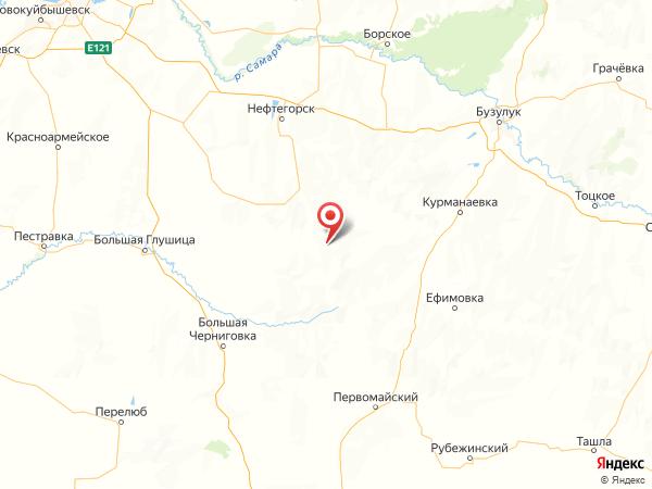 поселок Гавриловский на карте