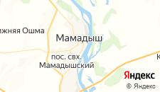 Гостиницы города Мамадыш на карте