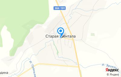 Местоположение на карте пункта техосмотра по адресу Самарская обл, ж/д_ст Шентала, ул Кирова, д 20А