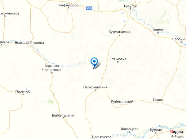 поселок Мансурово на карте