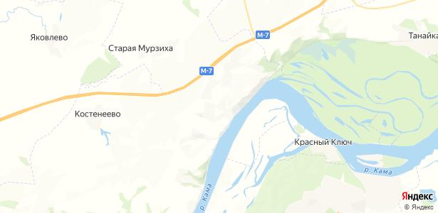 Покровское на карте
