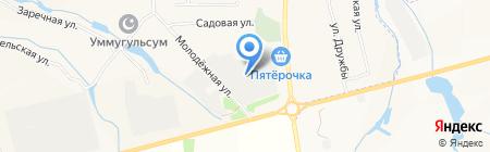 Низагар авто на карте Большого Афанасово