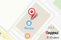 Схема проезда до компании Посуда Центр в Нижнекамске
