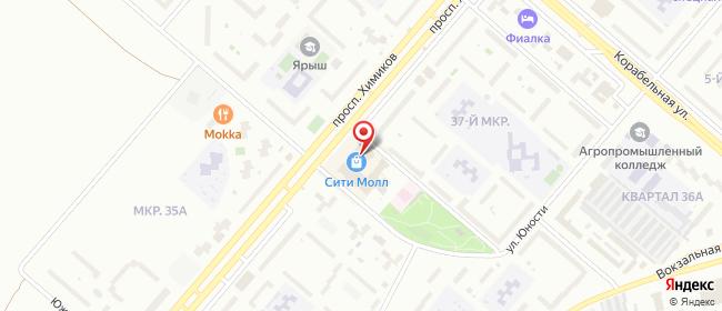 Карта расположения пункта доставки Халва в городе Нижнекамск