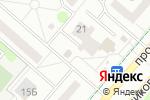 Схема проезда до компании Сеть магазинов и киосков по продаже колбасной и мясной продукции в Нижнекамске